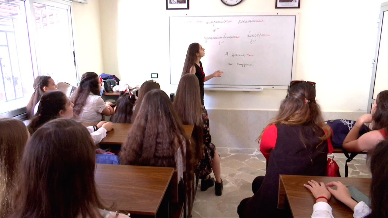 Очереди из желающих: Центр изучения русского языка и культуры открылся в Латакии