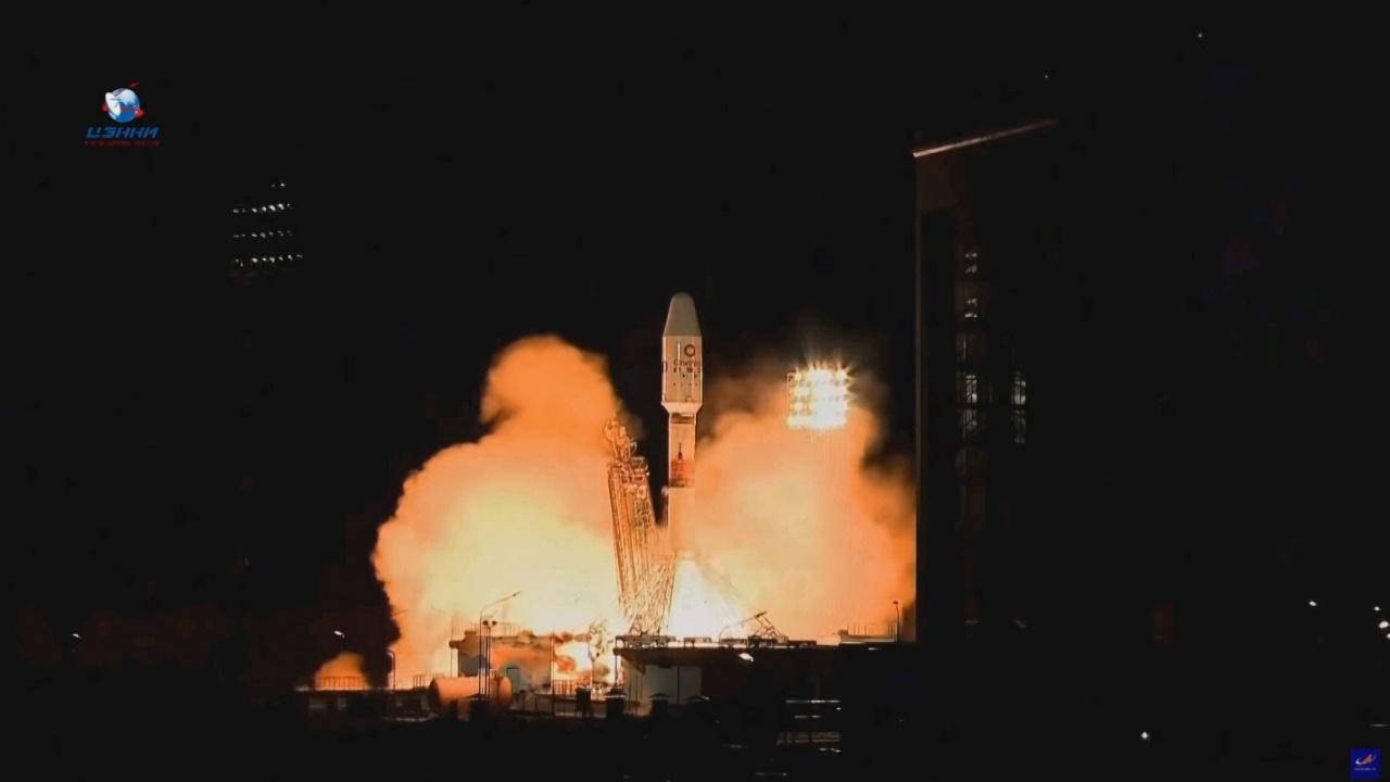 Ракета-носитель «Союз-2.1б» запущена с космодрома Восточный