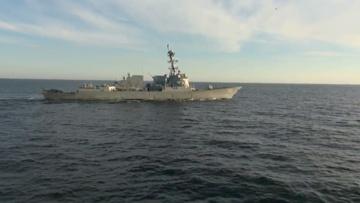 БПК Тихоокеанского флота «Адмирал Трибуц» не допустил нарушения границы эсминцем ВМС США