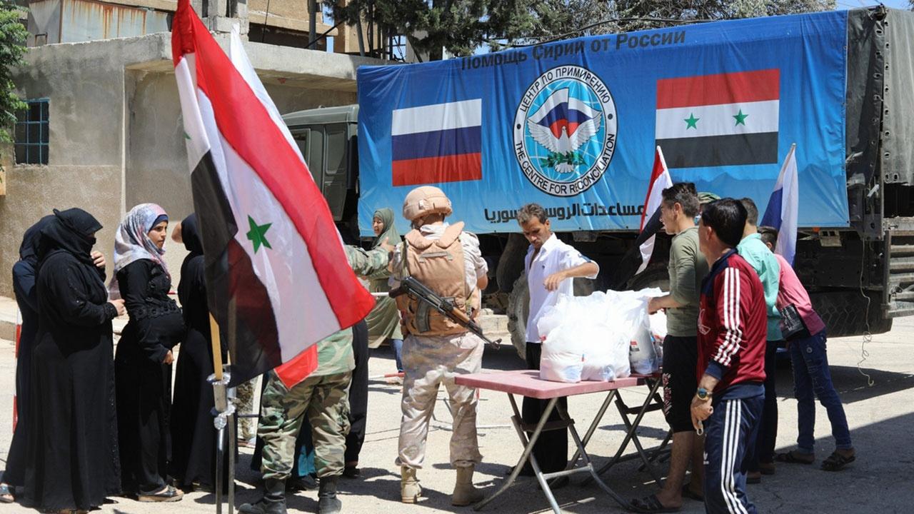 Восемь килограммов надежды: как продовольствие от ЦПВС спасает жителей Аль-Баляда