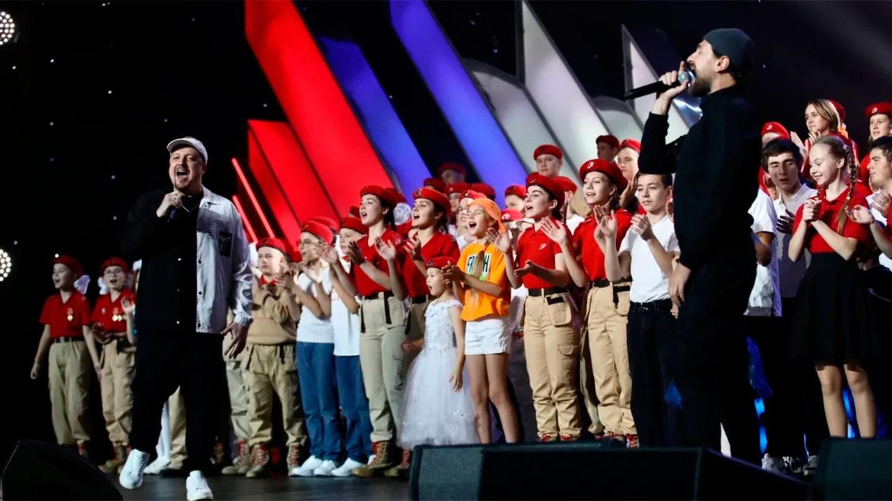 В Москве прошел фестиваль Всероссийской юнармейской лиги КВН