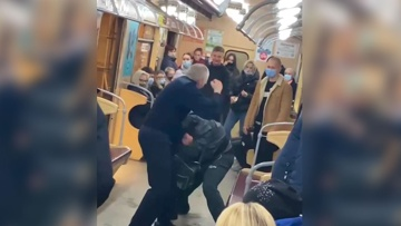 В Харькове машинист метро сам «наказал» дебошира