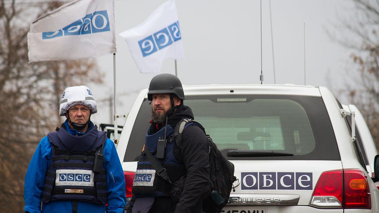 ОБСЕ приостановила миссию по наблюдению на Донбассе из-за протестов
