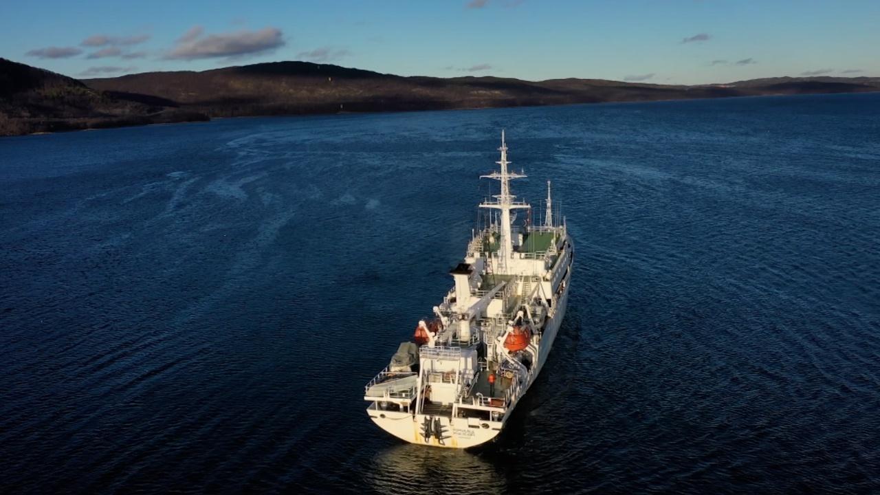«Помни войну»: российское судно обнаружило кладбище кораблей в Баренцевом море