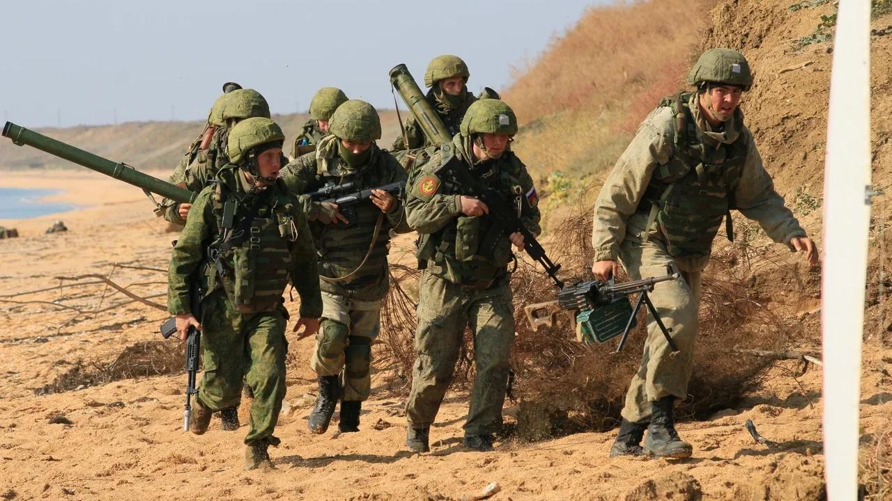 Мотострелки проявили нешаблонные подходы, отражая наступление «врага» в Крыму