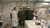 Шойгу проинспектировал новейшие лаборатории 27-го научного центра МО в Москве