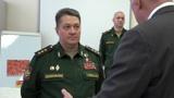 Замначальника Генштаба проинспектировал Военную академию связи