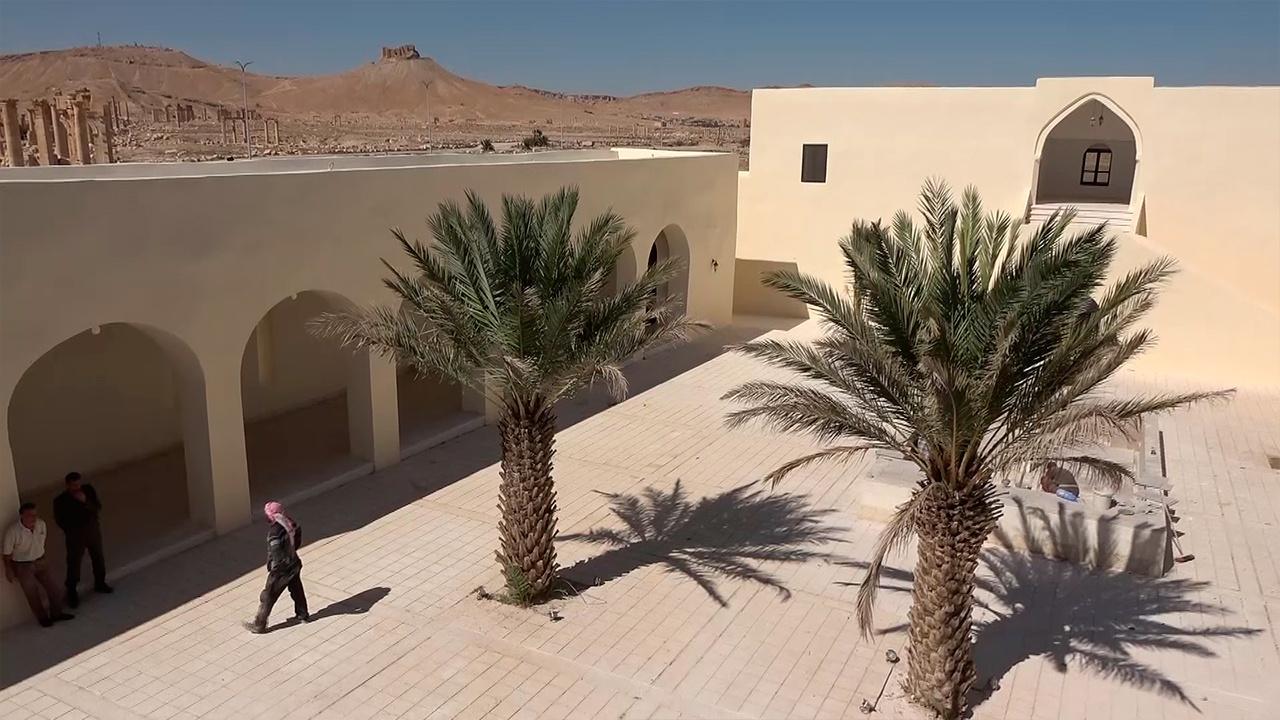 Роза пустыни: в Пальмире заканчивается восстановление исторической гостиницы