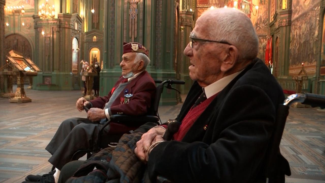 Вместе против нацизма: ветераны Второй мировой из нескольких стран встретились в парке «Патриот»