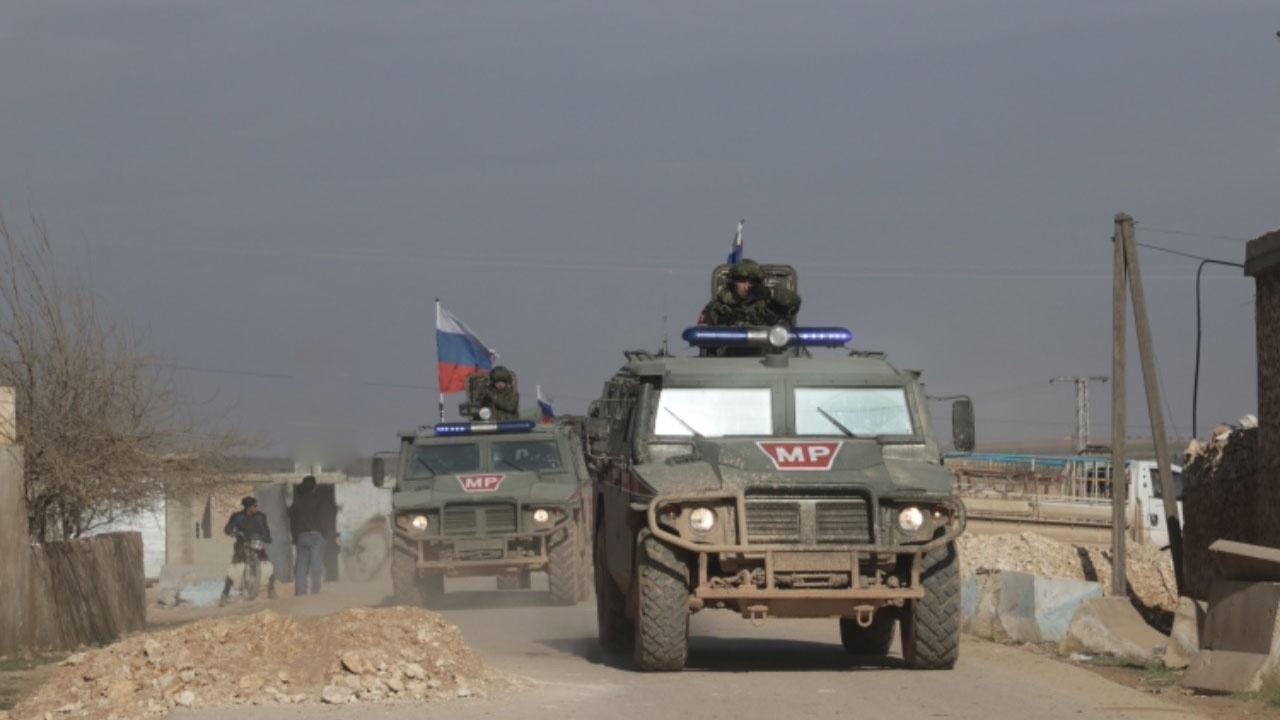 Подрыв взрывного устройства произошел перед колонной российской военной полиции в Сирии