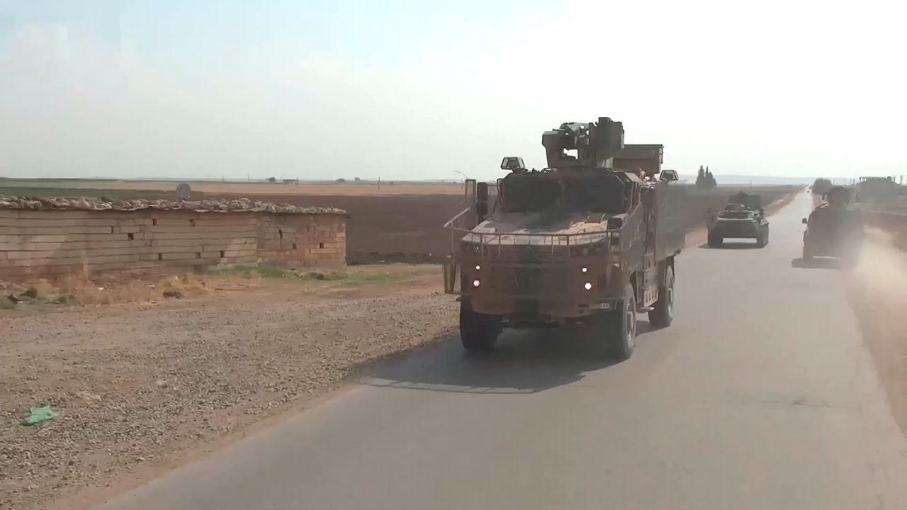 Совместные патрули: как военные ВС РФ и Турции контролируют обстановку у сирийского Телль-Рифъата