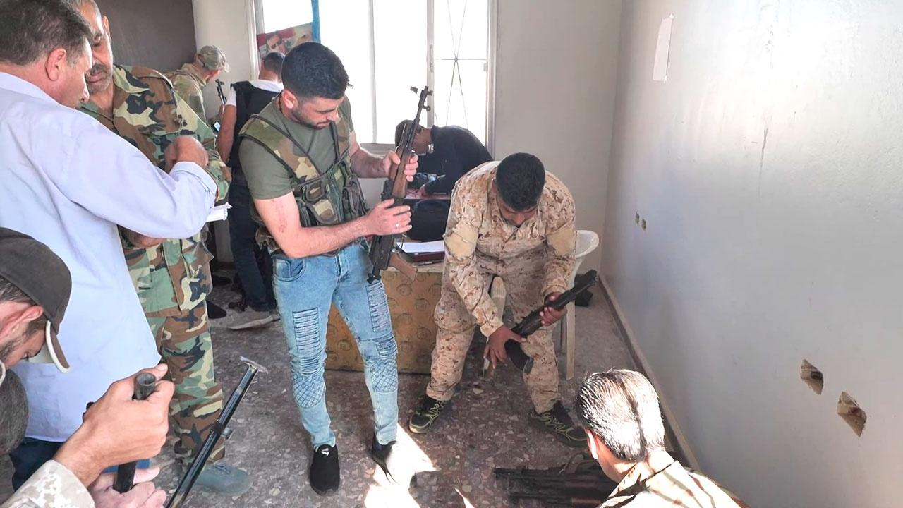 Сдано свыше 300 тысяч единиц оружия: в сирийской Деръа завершился процесс примирения боевиков